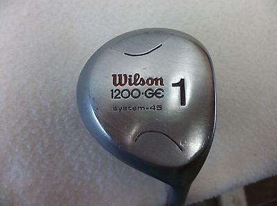 Wilson 1200-GE -System 45 - #1 Driver - Right Hand - Men's - A Flex