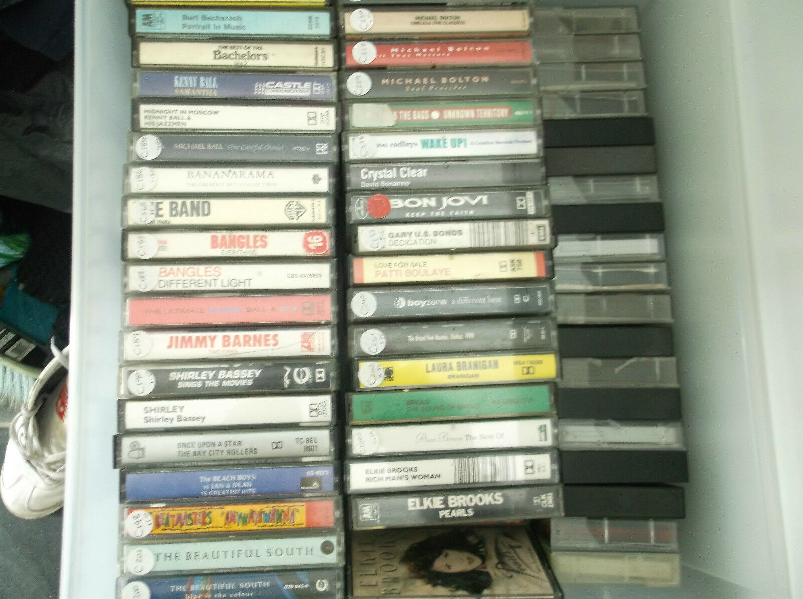 PICK 'N' MIX ALBUM CASSETTES--MANY TITLES--ROCK, POP, COUNTRY, R&B etc See Below