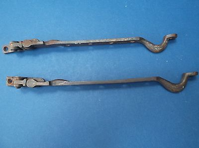 Pair of Metal Window Catches of Deco design fairly good conditon