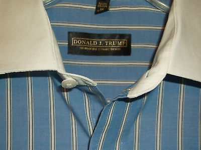 Men's Donald Trump Long Sleeve Dress Shirt Size 16  #180