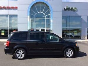 2012 Dodge Grand Caravan CREW - STOW AND GO, REAR AIR AND HEAT