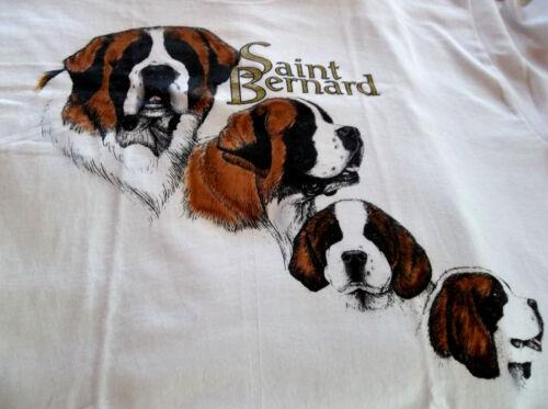 """Saint Bernard T-shirt """" Natural """" SM ( 34 - 36 )"""