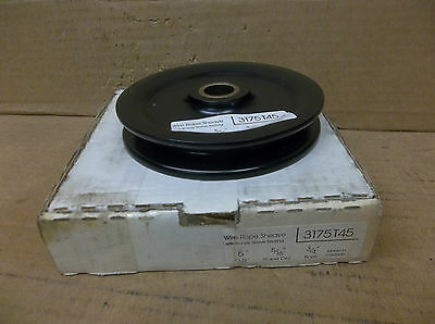 No Name Wire Rope Sheave 3175t45 5 Od 516 Rope Dia 34 Bore New