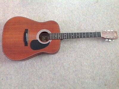 Vintage Hondo II Acoustic Guitar