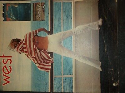Vintage La Times Sup West 1970 July19  Cali Water Report Dodger Maurice M Wills