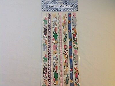"Chores Cook Clean Paint Dog  SCRAPBOOKING 12""  Border by Tie Me To Moon  A128"