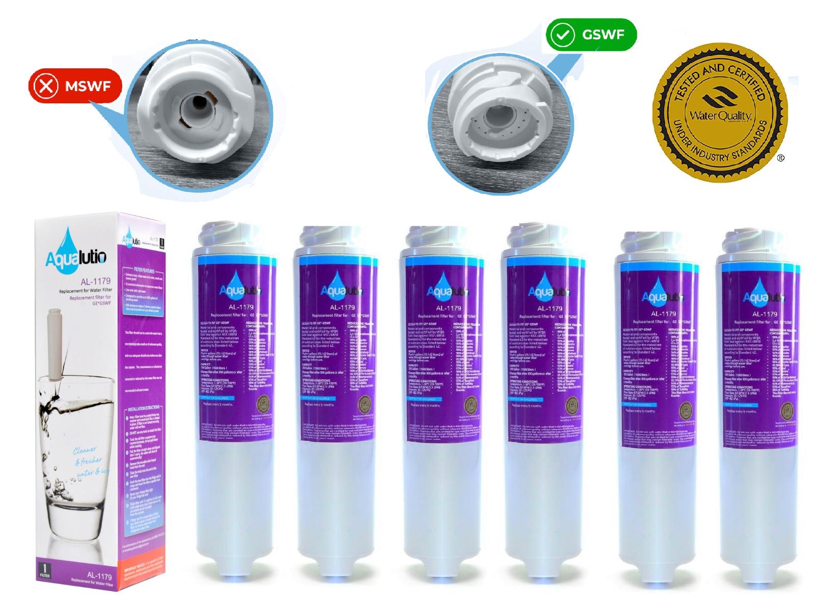 GE SmartWater Refrigerator Water Filter