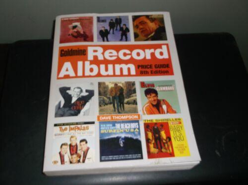 GOLDMINE RECORD ALBUM PRICE GUIDE   8TH EDITION