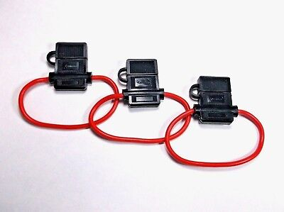 3 Scorpion Waterproof Fuse Holder For Blade Type Fuses Atc