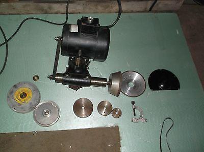 Dumore Tool Post Grinder 12 Hp Catalog 57-021 Model 8475 Nice
