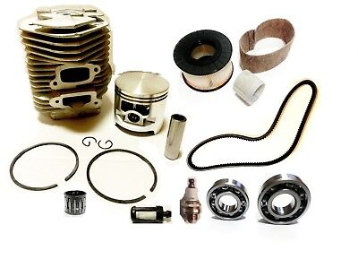For Stihl 075 076 Ts760 Cylinder Kit Overhaul 58mm Air Filter Bearings Belt
