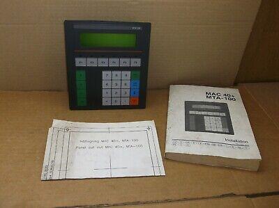 Mta-100 Mitsubishi Beijer New Hmi Operator Interface Touchpad Keypad Mta100