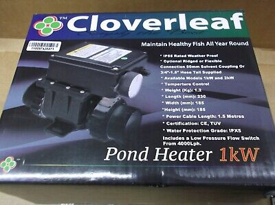 Cloverleaf Pond Heater 1 Kw fish koi pond