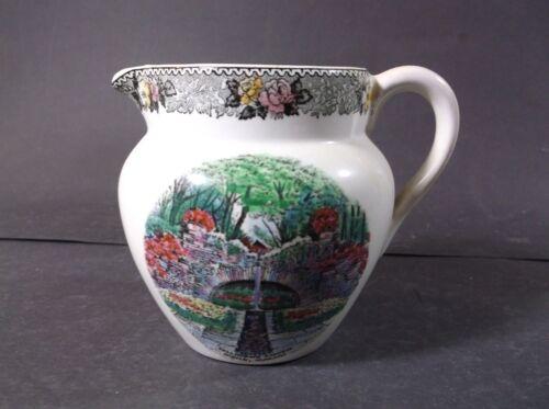 Bellingrath Gardens, Mobile Alabama souvenir creamer by Adams Potteries, England