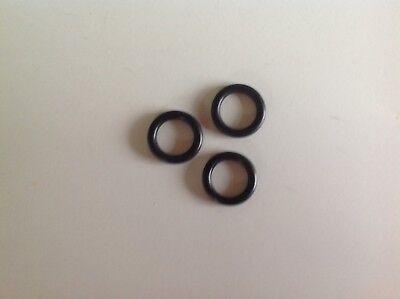 Jaguar E type gearbox striking rod o-rings (set of three) C20060