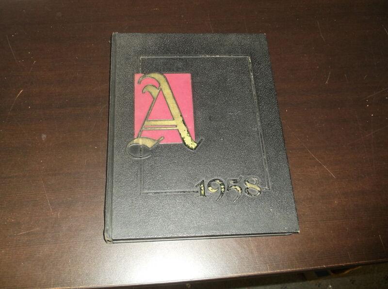 1958 ALMA COLLEGE YEARBOOK ALMA MICHGAN