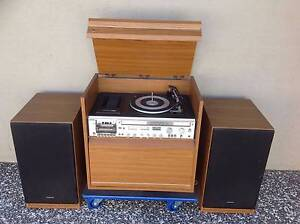 KRIESLER VINTAGE RECORD PLAYER SOLID and LARGE CASSETTE TAPE DECK Bundall Gold Coast City Preview