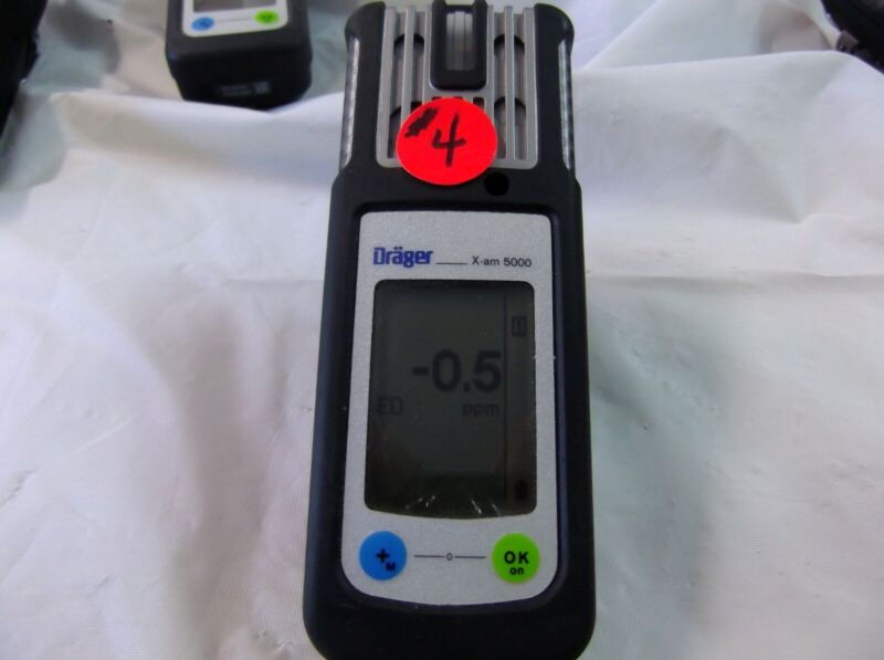 Draeger X-AM 5000 Offer #4 Liquidation of my odor mitigation business