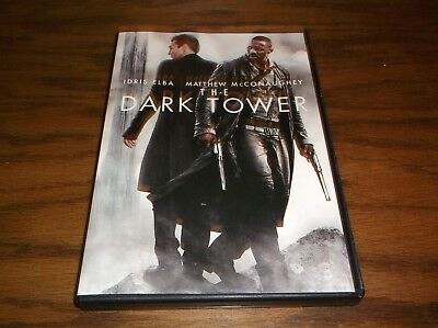 The Dark Tower  Dvd  2017  Idris Elba  Matthew Mcconaughey 842