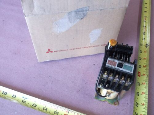 MITSUBISHI SD-A12 MAGNETIC CONTACTOR W/ TH-12 RESET