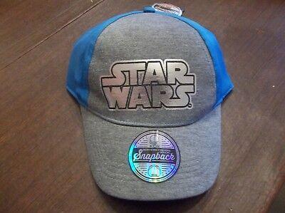 Star Wars Kids Berkshire Fashions Official Snapback Baseball Cap NWT!