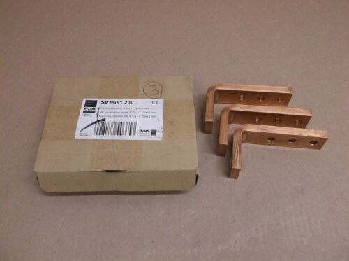 Sv 9661.230 Rittal Qty 3 New In Box Sv Pe/pen Busbar Combination Angle 9661230