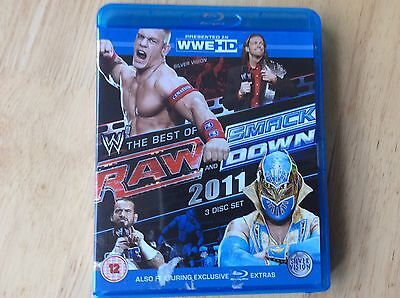 WWE Best Of Smackdown Raw 2011 Blu Ray! Look In The Shop!