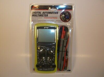 Pt Digital Automotive Multimeter W2972