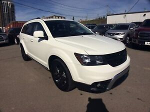 2018 Dodge Journey Crossroad/ AWD/ NAVI/ CAM/ H.LEATHER/ 7-PASS