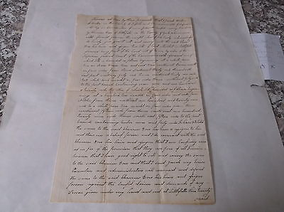 1788 DEED (1825 COPY) LITTLE FALLS, YORK COUNTY MASSACHUSETTS (NOW MAINE)
