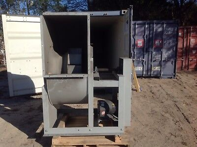 Greenheck Industrial Fan Blower 15 Hp. Model Swb-230-150-ccw-th