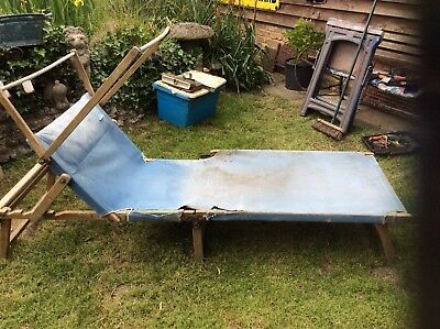 Barnfind Victorian Antique Sun Lounger