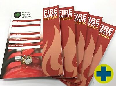 Fire Safety Log Book - Pack of 10