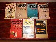 James Bond books by various authors Modbury North Tea Tree Gully Area Preview