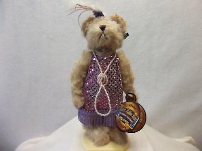 Brass Button Bear - Daisy