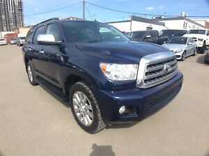 2010 Toyota Sequoia Limited - DVD/ H.LEATHER/ NAVI/ CAM/ROOF/ 8-