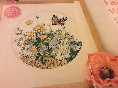 Spring Garden Fairy Pattern Cross stitch chart Only (906) for sale  Shipping to South Africa