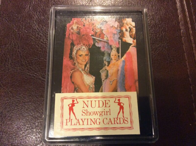 Nude Showgirl Playing Cards from Las Vegas