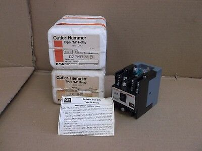 D23mr31b Eaton Cutler Hammer New In Box Type M Power Relay D23mb D26mpr D26mpl