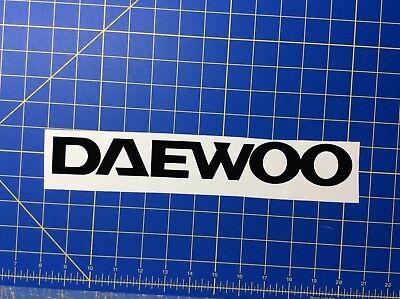 Daewoo Forklift Mast Or Hood Vinyl Decal Sticker Set Of 2 Decals 16 Inch