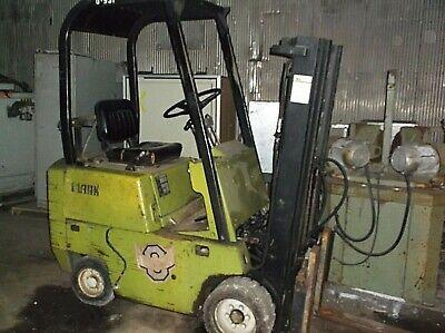 Clark Forklift Propane 2500 Lb Hard Tire