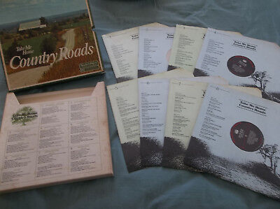 Take Me Home Country Roads 6 X Vinyl Record Lp Box Set Readers Digest Collection