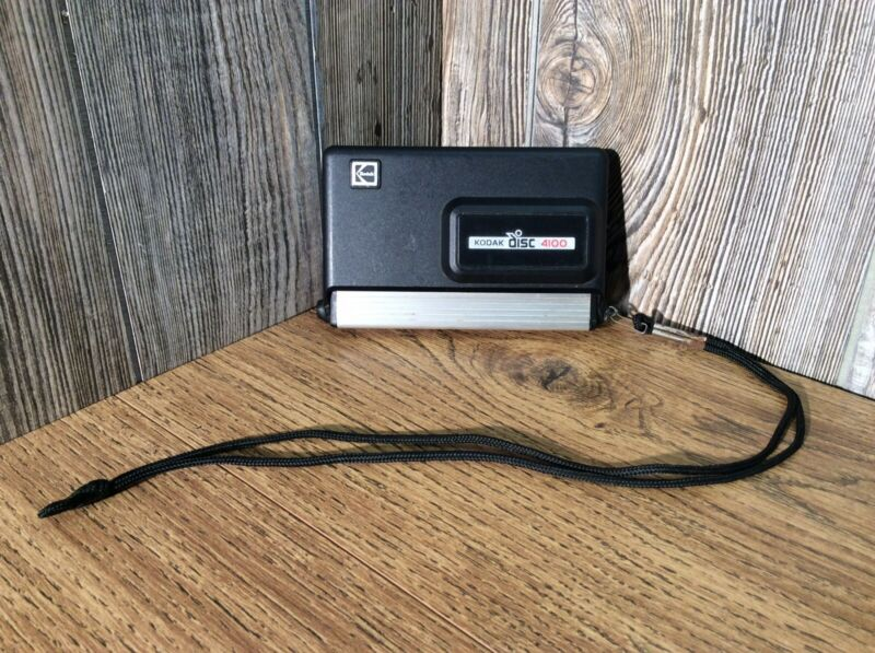 Kodak Vintage 4100 Disc Camera With Strap B8