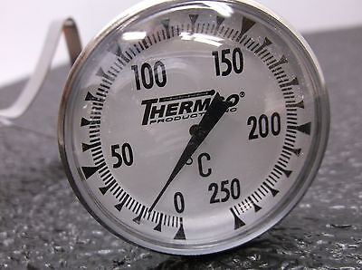 Thermco 3lpl8 Dial Pocket Thermometer 8 In. L D18