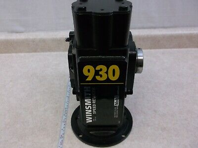 Size 63 Right Angle Worm Gearbox 40:1 Ratio 35 RPM Motor Ready Type NMRV