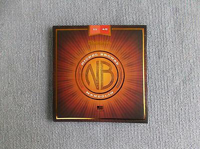 D Addario nickel  Bronze acoustic mandolin 11-40 strings  for sale  Sherbrooke
