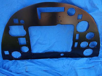 ww2 raf spitfire replica instrument panel all holes correct size