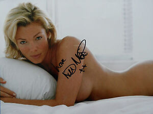 NELL-McANDREW-signed-16x12-Photo-TOPLESS-glamour-MODEL-COA