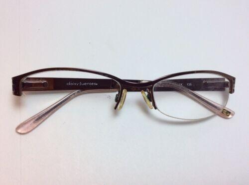 93ea5729eb0 デイジーFeuntes眼鏡フレーム・エステル118トープ色 ブラック51[]18 ...