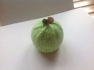 Halloween/Christmas apple Terrys Chocolate Orange/Bath Bomb Cover Hand Knitted 2 (Chocolate Covered Halloween Apples)